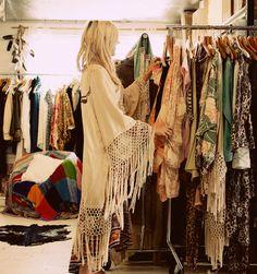 kimonos and fringe
