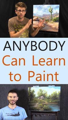 Learn To Draw Manga - Drawing On Demand Acrylic Painting Techniques, Painting Videos, Drawing Techniques, Drawing Tips, Acrylic Art Paintings, Acrylic Canvas, Oil Paintings, Learn To Paint, Learn To Draw