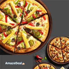 Buy One Get One on Medium/Large/Premium/Special Pizzas. Grab it At - bit.ly/AD-La-Pinoz #AmazeDeal #AmazingSavings #StayAmazed