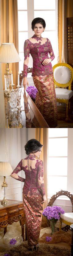 Kebaya wisuda karya Ratu Kebaya. More info, visit our IG @ratukebaya_medan