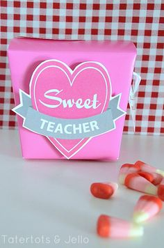 Perfect way to present a box of candy!
