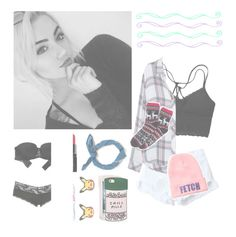 """""""••crazy's i believe the medical term when we wanna recover but we don't wanna learn••"""" by fivesecondsofphan ❤ liked on Polyvore featuring WithChic, Rails, ban.do, Zara, Evian, Smashbox, Aerie and Charlotte Russe"""