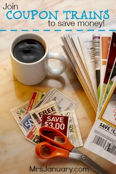 Join Coupon Trains to Save Money. This article explains exactly what coupon trains are and how to best take advantage of them. #frugalliving #blog #savemoney #coupons #simpleliving http://www.mrsjanuary.com/ Couponing 101, How To Start Couponing, Couponing For Beginners, Extreme Couponing, Save Money On Groceries, Ways To Save Money, Groceries Budget, Money Savers, Frugal Tips
