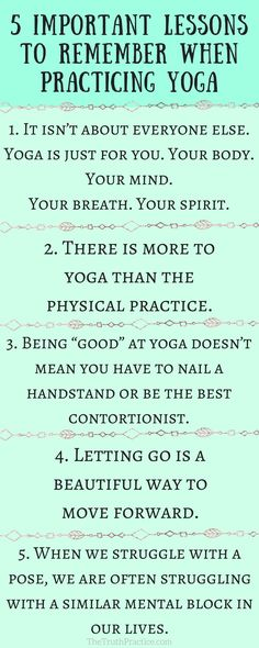 CLICK THE PIN TO READ THE 10 important lessons you should know before practicing yoga as a beginner! Yoga has become mainstream, but is that a good thing? Have we forgotten the essence of the practice? If you've gotten too caught up in the clothes, trends, and Instagram pictures, read this to help you find your internal compass! Check out The Truth Practice to read about inspiration, authenticity, happy living, manifestation, getting rid of fear, intuition, self-love, self-care, & mantras. 1…