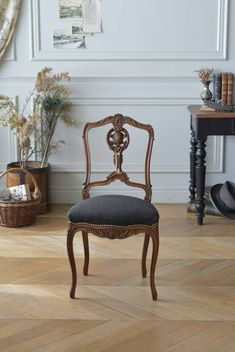 Blue Dining Tables, Luxury Furniture, Antiques, Home Decor, Carved Wood, Antique Furniture, Dining Chairs, Antiquities, Antique
