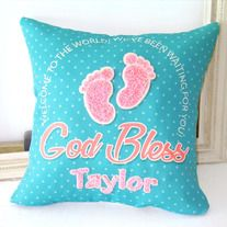 "Embroider+name+below""+God+Bless"",write+down+your+name+on+the+order+page+or+Email+(cabincltdwong@hotmail.com) >Including:+Embroider+name+Pillow+cover,+no+filling >Size:+Please+choose+to+buy >Material:+C/T >Washing:++Machine+Washable. If+you+need+other+size+or+shape,please+contact+us+here+or+E..."