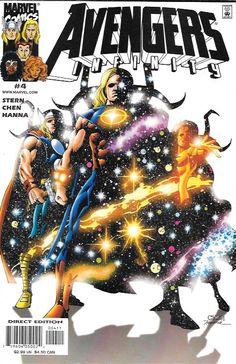 Avengers Infinity # 4 Marvel Comics