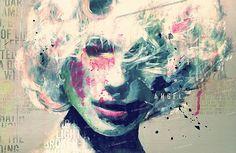 Mixed Media Art by Nukuzu