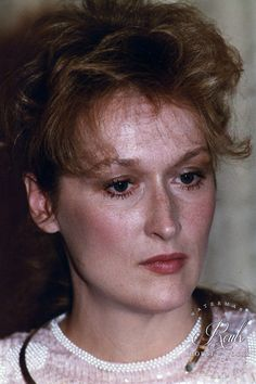 Meryl Streep (by Peter Warrack) - Limited Edition, Archival Print