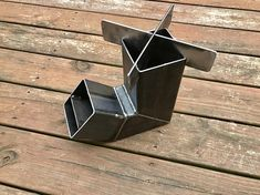 Self Feeding Rocket Stove With Removable Top / #etsy #rocketstove #guystuff