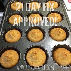 Toneupgirl | Cornbread - 21 Day Fix Approved!