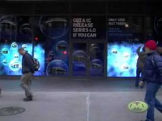 Scion Interactive Window Campaign - Monster Media - YouTube