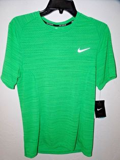 SALE + Free Ship Menscave7 Nike Men's Dri-FIT Cool Relay Running Shirt Black Small 718348 NEW #Nike #running #mensfashion
