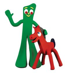 """March Today in 1957 The Gumby Show debuted with """"claymation"""" characters Gumby and Pokey. Do you remember watching Gumby? Did you have any Gumby toys as a kid? My Childhood Memories, Childhood Toys, Sweet Memories, School Memories, Childhood Friends, Cherished Memories, Old Cartoons, Classic Cartoons, Free Cartoons"""