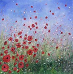 'Remembrance Day' by Andrea Farmer « Selected Artworks Selected Artworks Pebble Painting, Painting & Drawing, Remembrance Day Art, Art Essay, Mixed Media Painting, Landscape Paintings, Landscapes, American Art, Art Projects