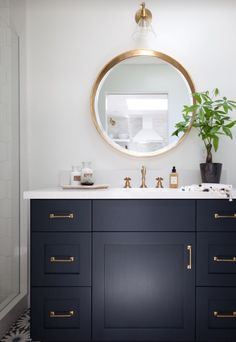 Like the round mirrors for bathroom. Looking for double his and hers sinks