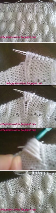 Discover thousands of images about Knitting baby Knitting Stiches, Knitting Charts, Lace Knitting, Crochet Stitches, Stitch Patterns, Knitting Patterns, Crochet Patterns, Knitting Designs, Knitting Projects