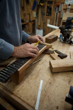 Acoustic Guitar Building Workshop day 7 at Lichty Guitars, Build Your Dream Guitar in 10 Days!