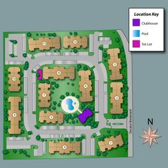 Site Map of Rancho Del Rey Apartments •  2701 N. Decatur Blvd •  Las Vegas,  NV  89108  •  702-631-4422  •  Fax: 702-631-5703 - www.ranchodelreyapartments.com/