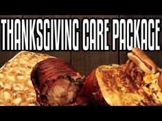▶ Thanksgiving Care Package - Epic Meal Time - YouTube