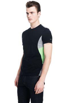 Colorblock Crew - Activewear - Mens - Armani Exchange
