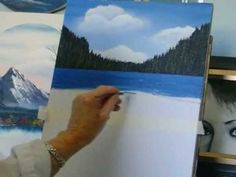 ▶ Acrylic Painting Lesson 4, how to paint water - YouTube