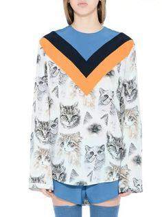 Blusa Estampa de Gatos - Compre Online | DMS Boutique