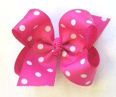 How To Make Boutique Hair Bow--1--Making 4 Loops Even - Click Image to Close