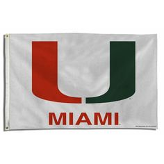Miami Hurricanes NCAA 3x5 Flag