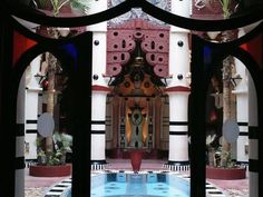 Ziwana Art Restaurant Marrakech, Morocco http://archnet.org/sites/6473 What a cool place!