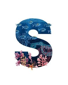 Day 20 & S is for Sea Coming up with a word starting with an S was the easiest thing ever. S goes for sea, sea… Friend Challenges, Alphabet Wallpaper, Type Illustration, Paper Quilling Designs, Art Friend, 36 Days Of Type, Ipad Art, Decorate Notebook, Inktober