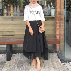 Best ideas for skirt outfits modest formal Skirt Outfits Modest, Modest Wear, Chic Outfits, Fashion Outfits, Fashion Trends, Casual Hijab Outfit, Hijab Chic, Hijab Dress, Street Hijab Fashion