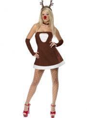 Fever Red Hot Reindeer Kostuum