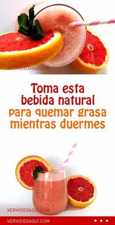 Toma esta bebida natural para quemar grasa mientras duermes #perderpeso #bajardepeso #adelgazar #quemargrasa #termogenica