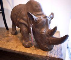 Homewares and Decor - Rhino Statue