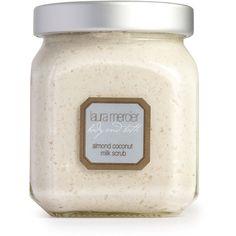 Laura Mercier Almond Coconut Milk Scrub ($46) ❤ liked on Polyvore