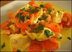 Mijoté de poulet au curry à la thaï