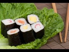 Sushi - Clase 2  Maki Sushi - Norimaki / Uramaki no tamanho Chumaki (md) e Futomaki (gd)