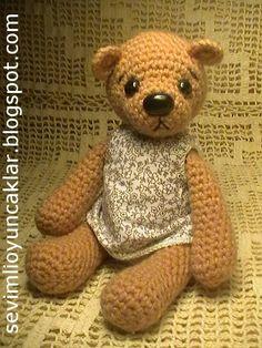 Amigurumi Teddy Bear. $45.00, via Etsy.