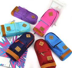 Classic Backpack Pencil Pouch  sc 1 st  Pinterest & pencil pouches that look like mini backpacks!! I like the blue and ... Aboutintivar.Com