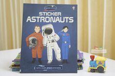 Sách Usborne Sticker Dressing Astronauts