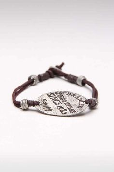Amigaz Leather Bracelet With Branded Goods and Supplies