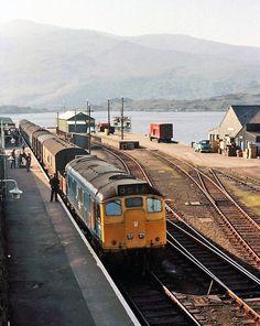 Kyle of Lochalsh Station Electric Locomotive, Diesel Locomotive, Steam Locomotive, Kyle Of Lochalsh, Electric Train, British Rail, Great Western, Rolling Stock, Steam Engine