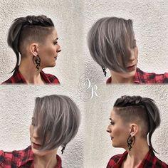 Zilver haar is helemaal 2016! Durf jij het aan? 12 korte kapsels met een zilveren kleur die het proberen waard zijn! - Kapsels voor haar