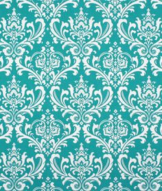 Bedroom curtain : Premier Prints Ozbourne True Turquoise Fabric - $7.45 | onlinefabricstore.net