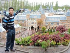 Saw this when I went! Should c it first and then choose where to go!! lol Madurodam, a miniature model of The Netherlands