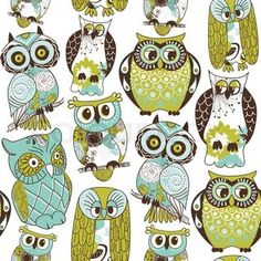 """Buy the royalty-free Stock vector """"Seamless owl pattern"""" online ✓ All rights included ✓ High resolution vector file for print, web & Social Media Owl Pictures, Owl Always Love You, Owl Patterns, Wise Owl, Owl Bird, En Stock, Doodle Art, Art Projects, Images"""