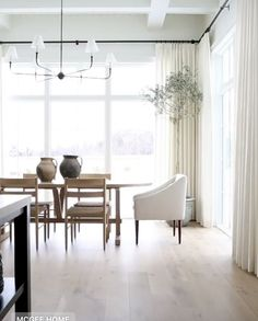 Choosing Window Treatments With The Shade Store Kitchen Window Treatments, Wall Treatments, Windows To Go, Woven Shades, Studio Mcgee, Kitchen Nook, Window Wall, Home Photo, Great Rooms
