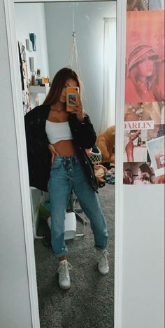 Cute Comfy Outfits, Cute Summer Outfits, Simple Outfits, Stylish Outfits, Sporty Outfits, Spring Outfits, Teen Fashion Outfits, Retro Outfits, Outfits For Teens