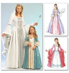 McCall's Princess Costume Pattern